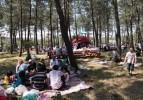 Hafta sonu 80 bin kişiyi ağırlayan mesire alanı