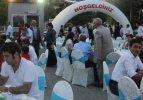 Hakkari Valiliği'nden bin kişiye iftar