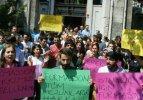 İstanbul Üniversitesi'nde 'formasyon' eylemi