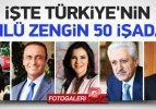 İşte Türkiye'nin en hayırsever 50 işadamı