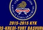 KYK 2015 üniversite (yurtkur) yurt başvurusu