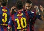 Messi, Neymar ve Suarez rekor kırdı
