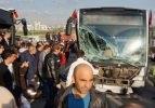 Metrobüs kazası: Çok sayıda yaralı