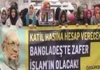 Molla'nın idamı protesto edildi