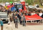 Muğla - Antalya karayolunda 2B eylemi