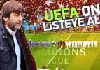 Rıdvan Dilmen UEFA'nın listesinde