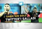 Sabri'nin golü sosyal medyayı salladı