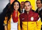 Sneijder'den Yolanthe'ye büyük jest