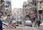 Suriye'nin harabe şehrinde sivil kalmadı