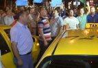 Taksicilerden İsrail eylemi