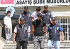 Taksiciyi aracın bagajında Ankara götürdüler