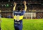 Tevez için 'Maradona'lı efsanevi karşılama!