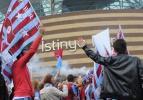 Trabzonspor taraftarı TFF'ye yürüdü