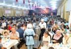 72 millet aynı iftar sofrasında buluşuyor