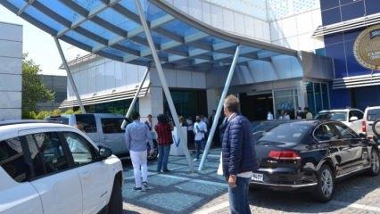 Ünlü isimlerden Oya Aydoğan'a ziyaret