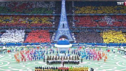 Fransa'da görkemli açılış!