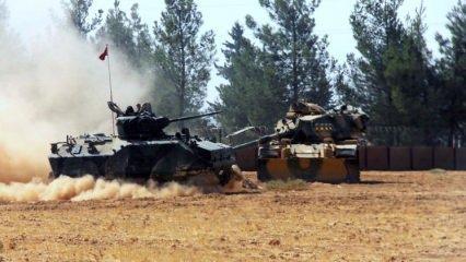 Türk askerine ateş açıldı, ABD uçakları şov yaptı