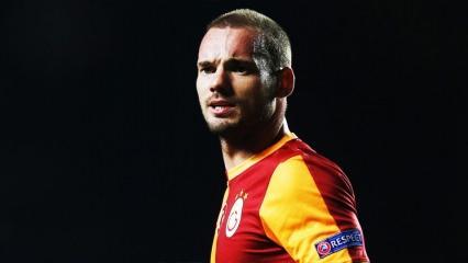 Wesley Sneijder ile yolar ayrıldı!