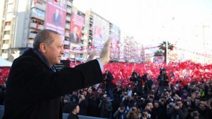 Cumhurbaşkanı Erdoğan: Muhteşemdi