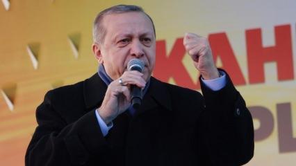 Erdoğan: Trump'ın o sözleri talihsizlik