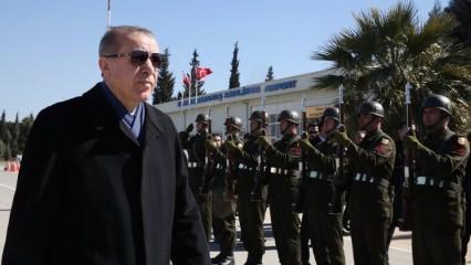 Erdoğan: Yeni hedefimiz orası! Şehri boşaltsınlar!
