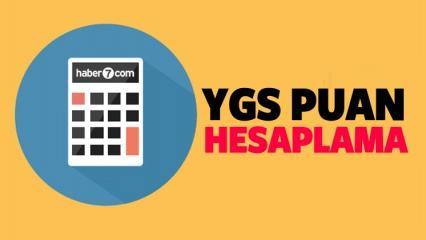 YGS puan hesaplaması! Kaç net kaç puan yapar