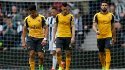 Arsenal günden güne eriyor! Yine yenildiler...