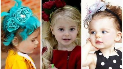 Çocuklara özel tasarım taç modelleri...