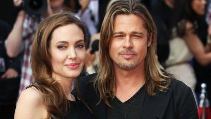 Brad Pitt kazayı duyunca Jolie'ye ateş püskürdü