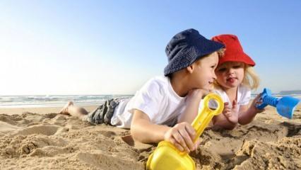 Çocukları güneşe çıkarmamazlık yapmayın!