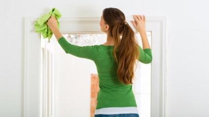 Beyaz kapılar nasıl temizlenir?