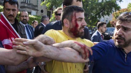 Washington'da Türklere alçak saldırı!