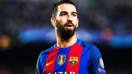 Arda Turan'a bir şok da Barcelona'dan!