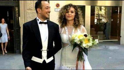 Oyuncu Sarp Apak evlendi