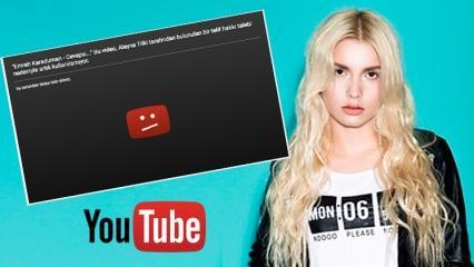 Youtube, Aleyna Tilki'nin şarkısını kaldırdı! (Cevapsız Çınlama Telif)