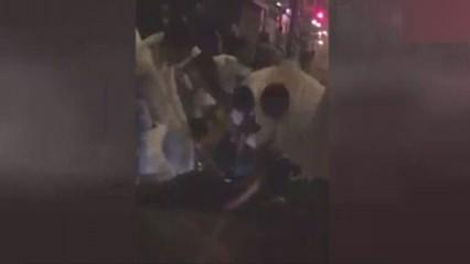 Londra'da kalabalığı ezen saldırgan linç edildi