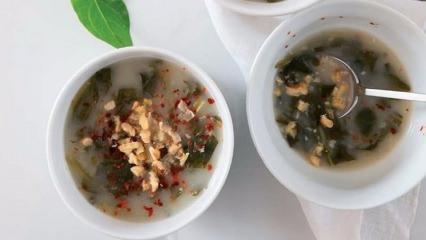 Hindiba çorbası tarifi
