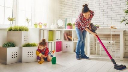 Çocuklar hangi ev işlerini yapabilir?