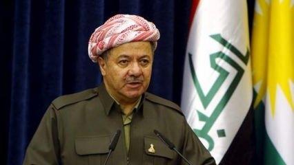 Barzani'ye çok sürpriz destek! Ertesi gün tanırız