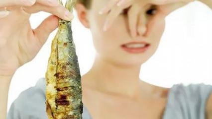 Evde balık kokusuna kesin çözüm!