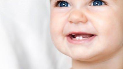 Bebeklerde diş çıkarma dönemi ve belirtileri...