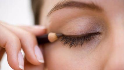 Eyeliner nasıl sürülür? Eyeliner sürme teknikleri