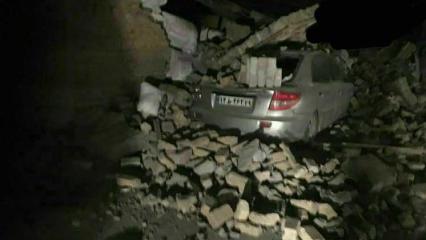 Irak'ta şiddetli deprem! Türkiye'den de hissedildi