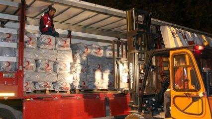 Irak'taki depremin ardından yine ilk Türkiye koştu