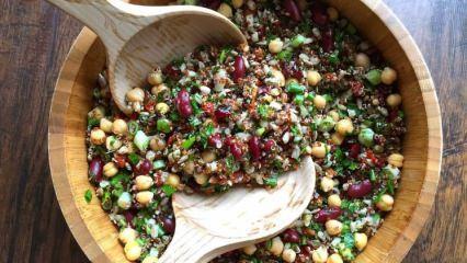 Kilo verdiren kinoa salatası tarifi