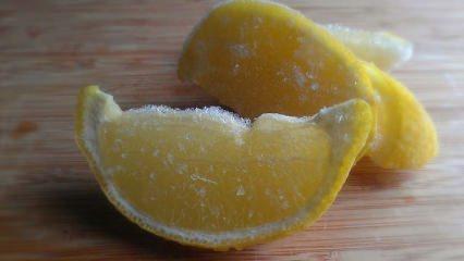 Dondurulmuş limonda kanser mucizesi! Faydaları...