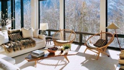 Kış aylarına uygun ev dekorasyonu nasıl yapılır?