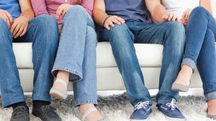 Bacak bacak üstüne atmak zararlı mı?