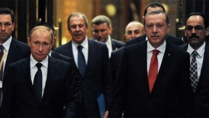 Cumhurbaşkanı Erdoğan Putin'le Kudüs'ü görüştü