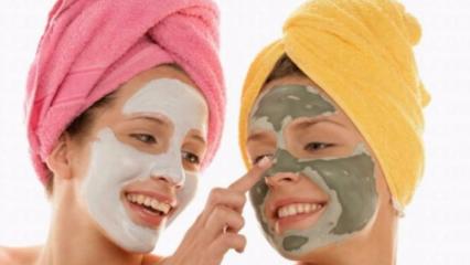 Evde yüz maskesi nasıl yapılır? Her cilt tipine uygun maskeler